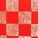 Fusumapapier ichimatsu rot
