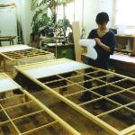 Shoji-Bespannung 2004