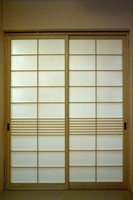 Japanische schiebetüren selber bauen  Shoji, japanische Schiebetüren mit Japanpapier bespannt | Takumi ...