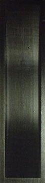 Muschelgriff für Shoji und Schiebetüren, Blackwood