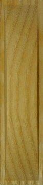 Muschelgriff für Shoji und Schiebetüren, Esche