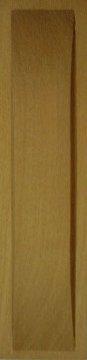 Muschelgriff für Shoji und Schiebetüren, Kirschbaum