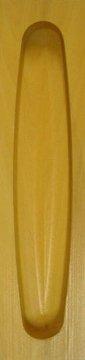 Muschelgriff für Shoji und Schiebetüren, Buchsbaum