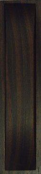 Muschelgriff für Shoji und Schiebetüren, Ebenholz